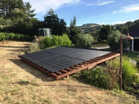 Ask us about pool solar heating systems Santa Rosa, Sonoma County, Napa County and Marin County.