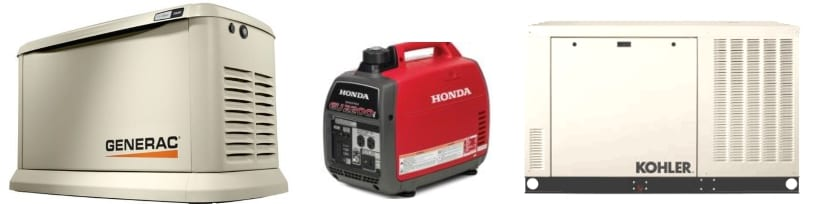 There are lots of backup power generators to choose from